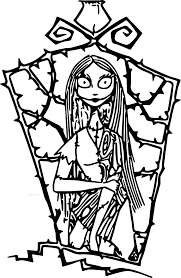 Nightmare Before Christmas Coloring Pages Download Or Print This
