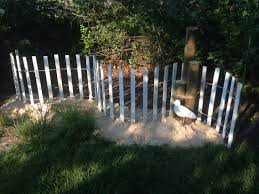 garden fence lowes. Coastal Garden Very Inexpensive. Fence $18.00 @Lowes, Sand Bags $4.00 @Home Lowes C