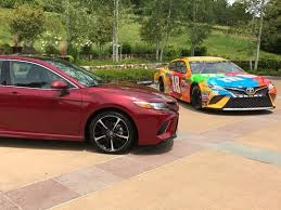 2018 toyota camry nascar. interesting nascar visual similarities between the 2018 toyota camry street inside toyota camry nascar