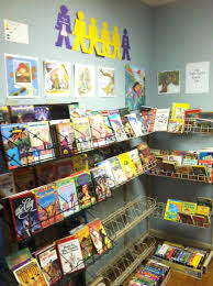 the children s room at the monroe symphony league book fair is fully stocked for the first of the summer