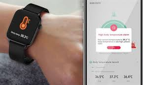 The <b>TicWris GTS Real Time Body</b> Temperature Watch is Health ...