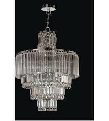 dale tiffany gh12114 rossborough 8 light 20 inch polished chrome chandelier ceiling light