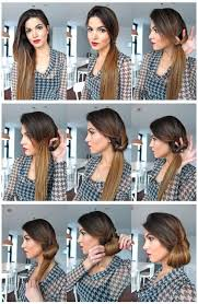 Hairstyle Easy Step By Step 15 simple hairstyle ideas ready for less than 2 minutes and looks 5754 by stevesalt.us