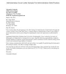 Example Of A Cover Letter For A Resume Accounting Clerk Cover Letter