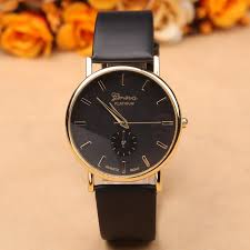 new arrival quartz watch women geneva fashion leather watch dress luxury las wrisches female clocks and watches welcome to and save