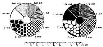 Sandstone Grain Size Chart Analyzing And Interpreting The Shape Of Sand Particles