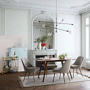 Narrow dining table with bench Kitchen Long Narrow Dining Table Yocipsclub Long Narrow Dining Table West Elm