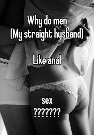 Why people like anal sex