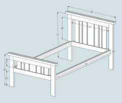 Free Bed Frame Plans Mission Style Bed – stpaulsredwing.info