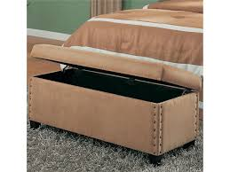 Stunning Leather Storage Bench Bedroom Pictures Resportus - Storage in bedrooms