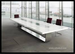 acrylic office desk. modern office acrylic solid surface conference tablemarble meeting table desk