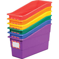 Classroom Magazine Holders Custom Group Colors For 32 Durable Book And Binder Holders