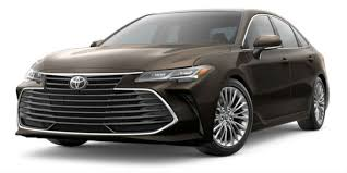 2019 Toyota Color Chart Available 2019 Toyota Avalon Interior And Exterior Color Options