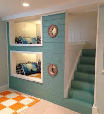 Furniture: Nautical Bedroom Design with Two Leveled Space Saving ...