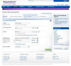 Search Resumes For Free Impressive Monster Resume Search Beni Algebra Inc Co Sample Resume Downloadable