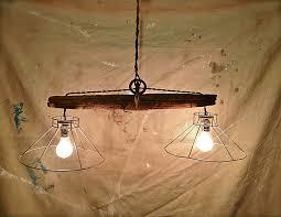rustic flush mount light fixtures