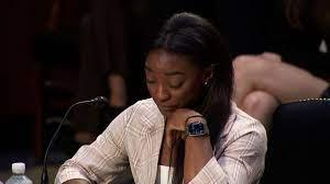 Hear Simone Biles' emotional testimony ...