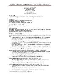 physical education resume objective basketball coach resume sample