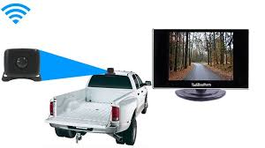 Gooseneck Hitching Backup Camera with Rear View Monitor