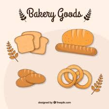 loaf of bread vector. Contemporary Vector Hand Drawn Baking Goods With Loaf Of Bread Vector Freepik