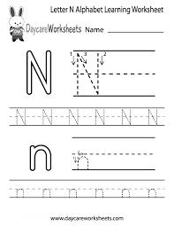 Math Worksheets Handwriting Practice Alphabet Writing Kindergarten ...