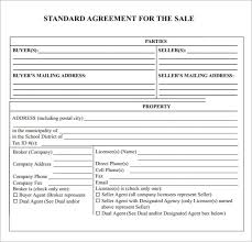 Sales agreements are found in all kinds of businesses but are often used in real estate deals as a way of finalizing the interests of both parties before they close the deal. Sales Agreement Templates 13 Printable Pdf Word Formats