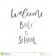 Welcome Back To School Letter Templates Welcome Back To School Template Stock Illustration Illustration Of