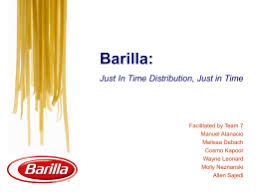 case study barilla spa what are the reasons for the increase in