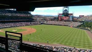 Coors Field Section Suite 2 A View From My Seat