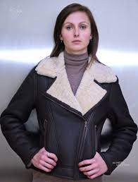 higgs leathers amelia las merino shearling flying jacket new lower