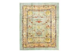 a fine north west persian carpet of ushak design