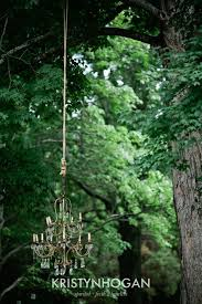 forest chandelier best of crystal chandeliers hanging from lawn trees are unexpected and