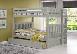 Camaflexi Full Over Full Bunk Bed with Trundle & Reviews