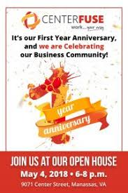 Prince William Chamber Of Commerce Centerfuse One Year Anniversary