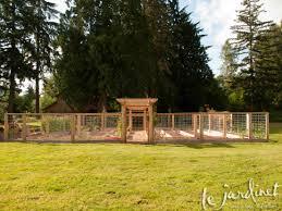 deer resistant vegetable garden