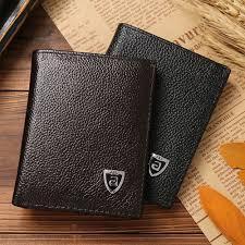 <b>Men</b> Wallet Leather Portfolio <b>2016 Famous Brand</b> JINBAOLAI ...