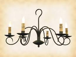 chandelier black wrought iron