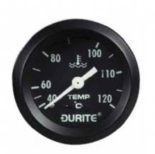 durite 52mm water temperature gauge electrical sender 12 or 24volt Sunpro Fuel Gauge Wiring Diagram at Durite Fuel Gauge Wiring Diagram