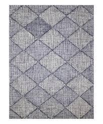 navy diamond amanya wool rug
