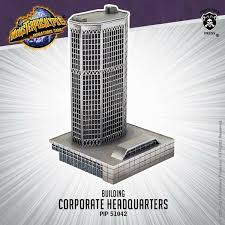 Ebay corporate office Main Street Monsterpocalypse Pip51042 Corporate Headquarters building Office Hq Terrain Ebay Esi Design Monsterpocalypse Pip51042 Corporate Headquarters building Office