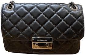 michael kors sloan leather cross bag image 0