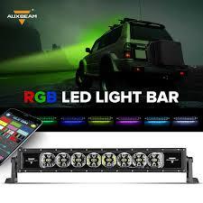 22 inch 120w philips csp combo beam single row rgb light bar