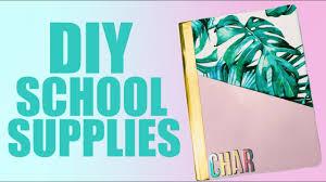 diy school supplies back to school 2018 19