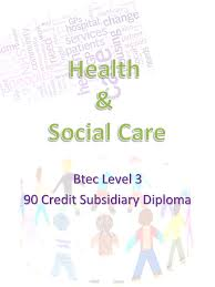 btec level credit subsidiary diploma about the course  1 btec level 3 90 credit subsidiary diploma