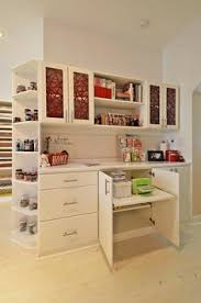 eclectic crafts room. Craft Room, California Closets, Eco Resin Inserts, 3form Doors Eclectic Crafts Room