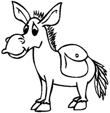 Small Picture Mexican Donkey Look Sad Coloring Pages Color Luna