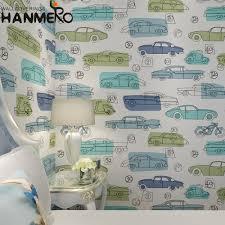 Hanmero Non Woven Auto Print Behang Kinderkamer Milieuvriendelijke