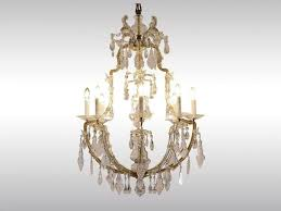 classic style crystal chandelier maria theresien er by woka lamps vienna