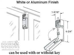 install sliding glass door pin lock saudireiki