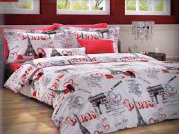 Paris Bedroom Set Best Of Items Similar To Girls Paris Bedding Set In Red  Or Fuchsia Pink For Twin Or Twin Xl 4 Piece